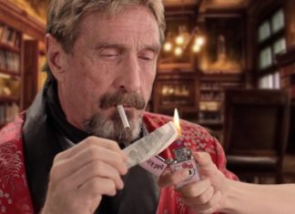John McAfee Wants To Be POTUS